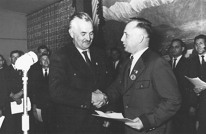 MGV Seerösl Liederwettbewerb Preisverleihung 1960
