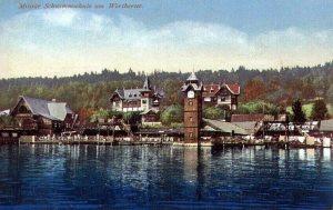 Militärschwimmschule 1915