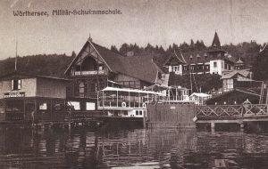 Militärschwimmschule um 1910