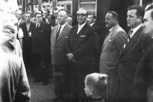 Minister Waldbrunner in Krumpendorf 1956