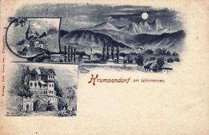 Mondscheinkarte 1909
