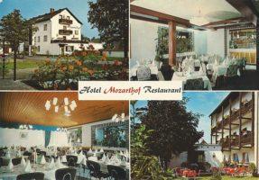 Hotel Mozarthof, Mozartweg, 1977