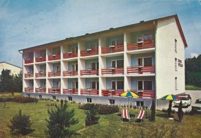 Hotel Müller, Kochstraße, 1968