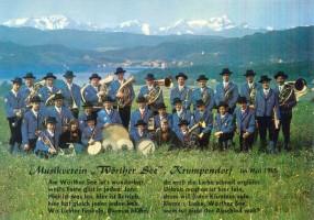 """Musikverein """"Wörthersee"""" Krumpendorf 1965"""