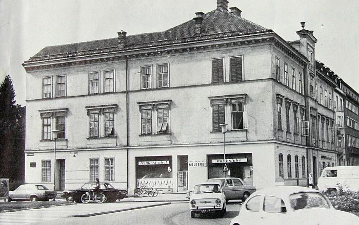 Musil Geburtshaus vor Renovierung 1973