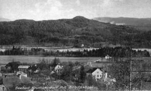 Ortsansicht süd mit Zirbitzkogel 1900
