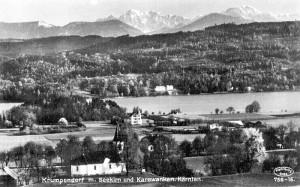 Ortsansicht süd mit Sekirn 1930