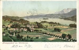 Ortsansicht südost 1899