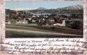 Ortsansicht südost 1900