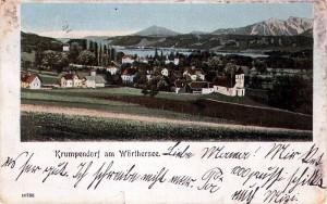 Ortsansicht südost 1902