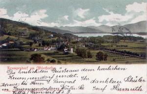 Ortsansicht südost 1909