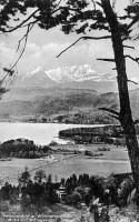 Ortsansicht südwest mit Mittagskogel 1931