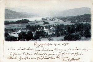 Ortsansicht südwest 1898