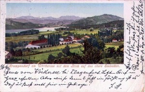 Ortsansicht südwest 1903