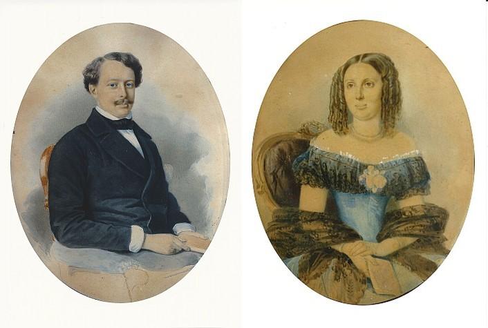 Otto und Caroline von Sterneck