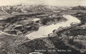 Panorama Wörthersee 1930