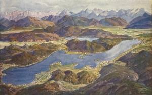 Panorama Wörthersee ca. 1915