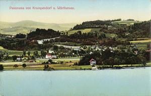 Panoramaansicht Krumpendorf 1 1912