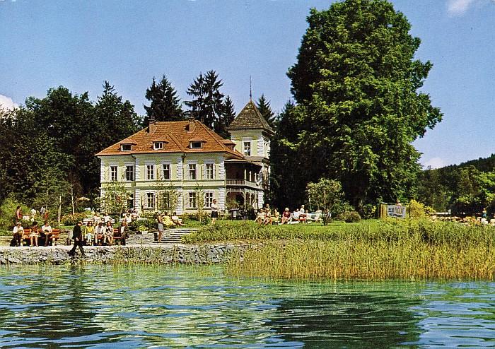 Parkvilla von Fam. Oswald geführt 1970er