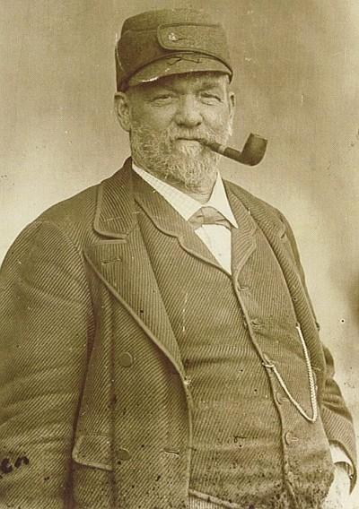Kapitän Johann Heinrich Scherrl Bootsbauer Krumpendorf 1896
