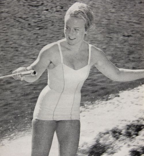 Renate Hansluvka 1960er Jahre