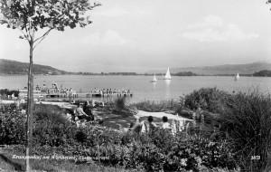 Kurpark und Parkbad 1963