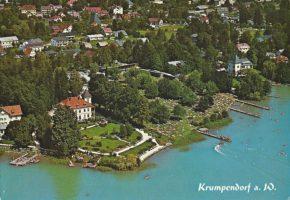 Parkbad und Parkvilla Luftbild 1971