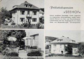 Pension Seehof 1960