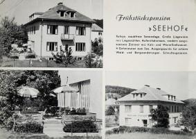 Pension Seehof 1960