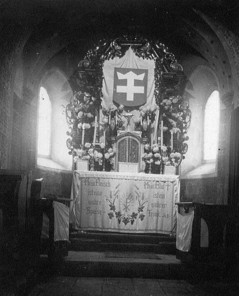 Altar der Georgskirche