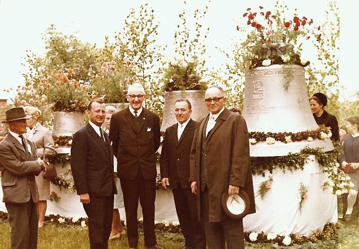 Glockenweihe 1968 Glockenkomitee