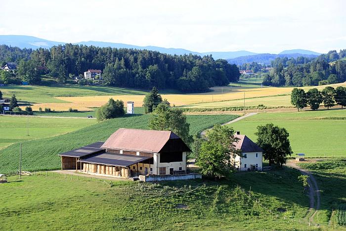 Ehemaliger Pfarrhof mit Wirtschaftsgebäude in Pirk