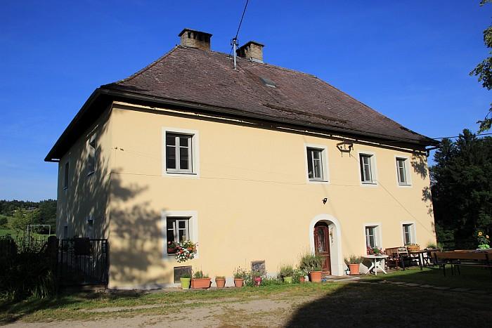 Der ehemalige Pfarrhof in Pirk