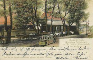 Pferdebahn Militaerschwimmschule 1903