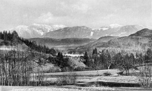 Pirk Karawankenblick 1920er Jahre