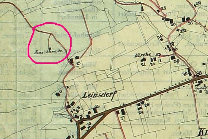 Auschnitt Krumpendorfplan 1913