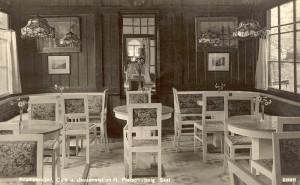 Pleschutznig Café und Jausenstation Saal 1928