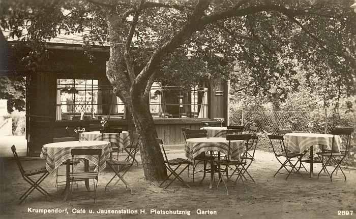 Café Dworsky, Betreiber Pleschutznig, 1930er