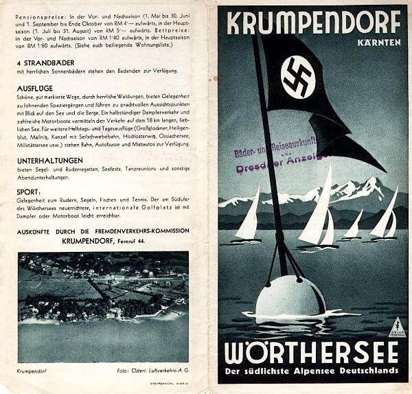 Prospekt Krumpendorf am Wörthersee 1939