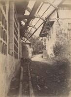 Römerweg hinter der Alten Post 1888