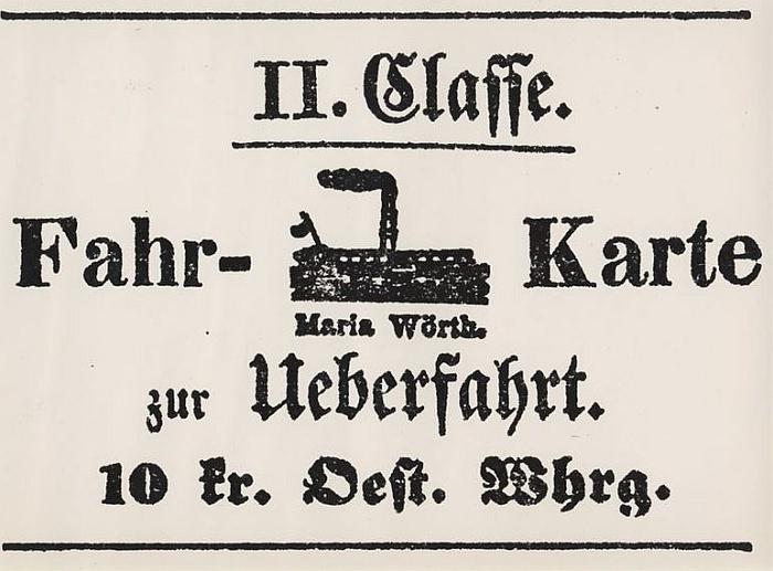 Fahrkarte Maria Wörth