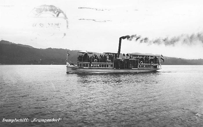 Dampfschiff Krumpendorf 1932
