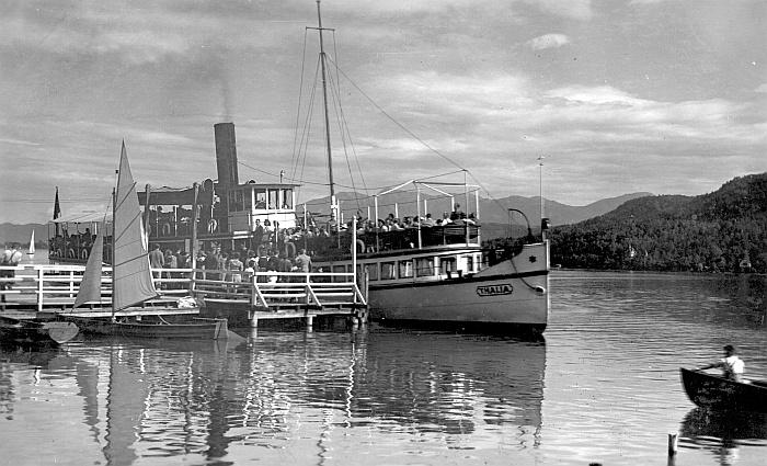 Thalia Anlegestelle Krumpendorf 1941