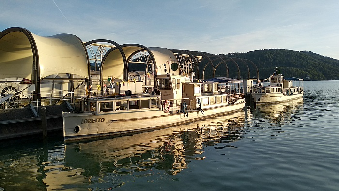 Loretto und Lorelei im Hafen in Klagenfurt 2019