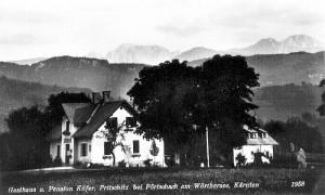 Gasthof und Pension Schiffwirt 1931