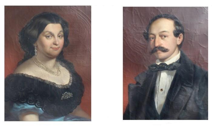 Ernestine und Friedrich Emil Schindler von Kunewald