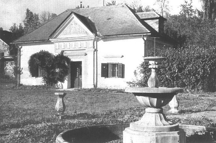 Schlossgarten, angelegt 1928