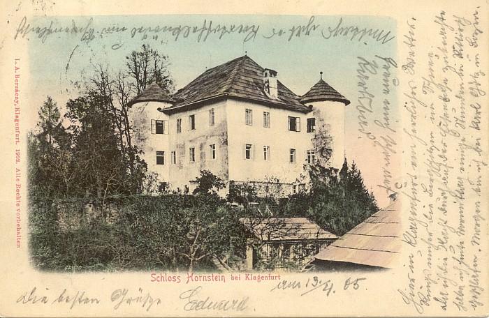 Schloss Hornstein 1905