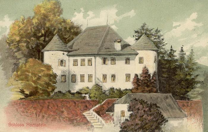 Schloss Hornstein 1929