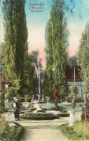 Schlossgarten Krumpendorf coloriert 1900